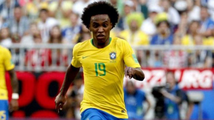 Brazil Tunjuk Willian untuk Gantikan Neymar