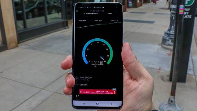 Kecepatan download super cepat