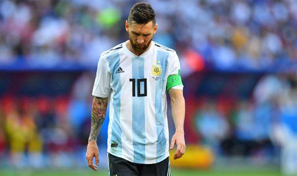 Messi Frustasi dengan Performa Argentina
