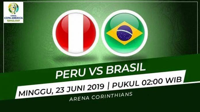 Prediksi Peru vs Brasil