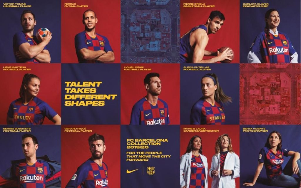 all new barcelona jersey