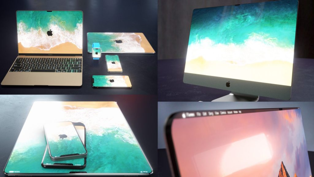 iMac dan iPhone Design