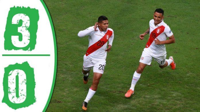 Peru lanjut ke final